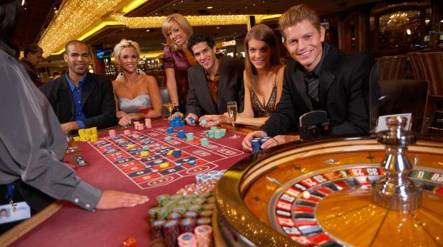 Einsatz Live Roulette-Tisch