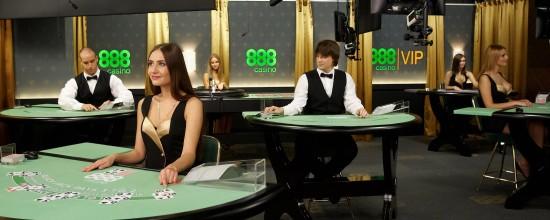 Live Casino: Bildschirme und Kameras
