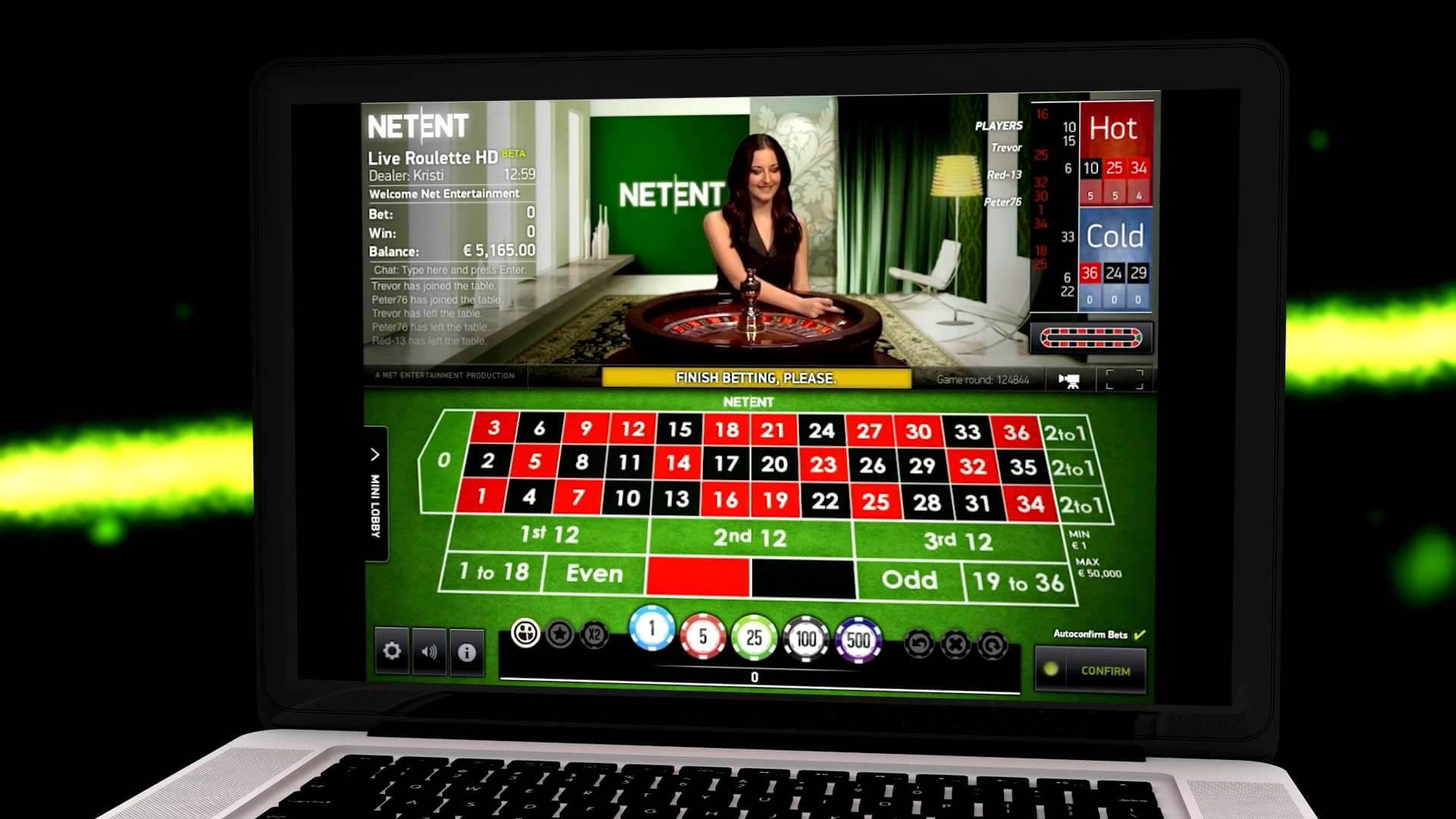 Live Casino-Verzögerung