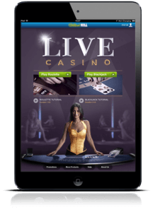 Live Casino auf dem iPad