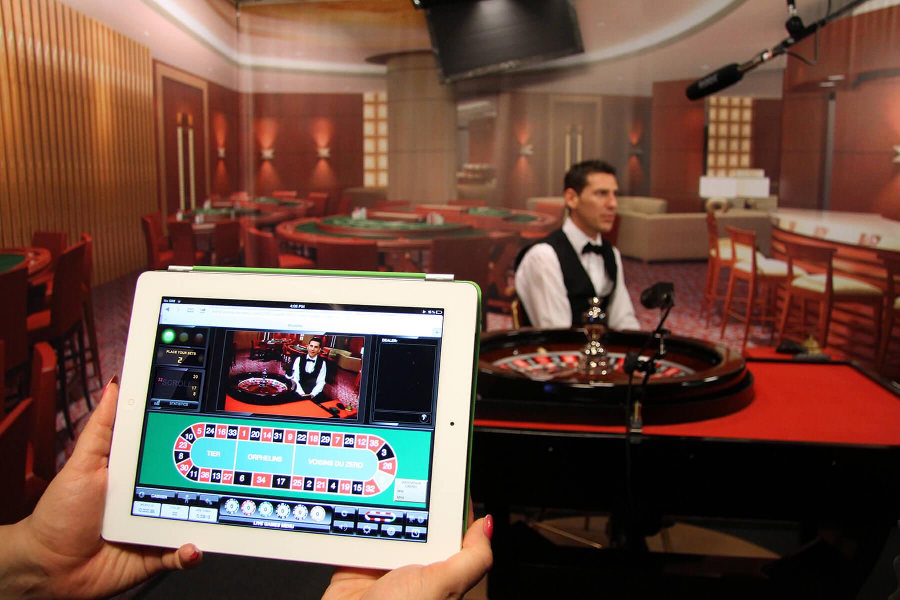 Live Roulette auf dem Tablet spielen