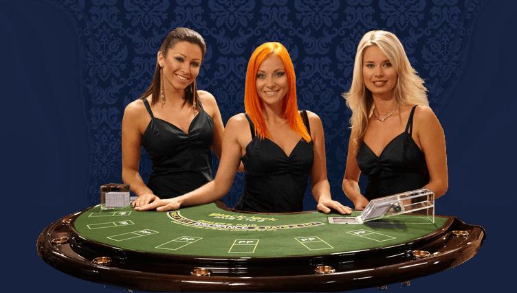 Live-Tisch im Live Casino