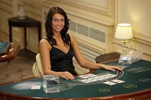 Weibliche Live-Croupiers im Live Casino