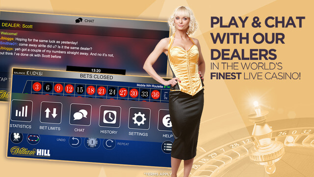 Live Chat William Hill Live Casino