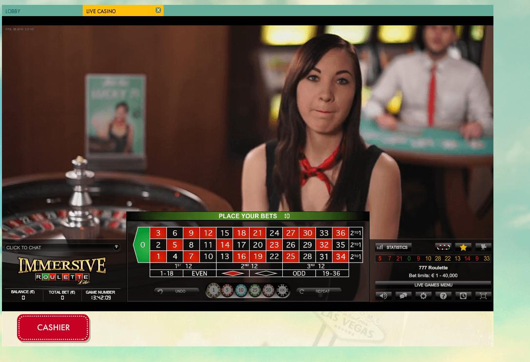 777.com Casino Live Roulette