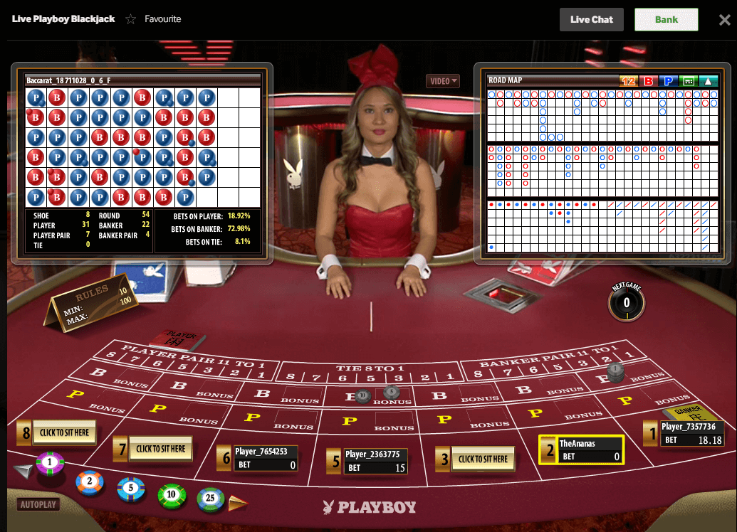 Live Casino Betway Playboy Live Casino