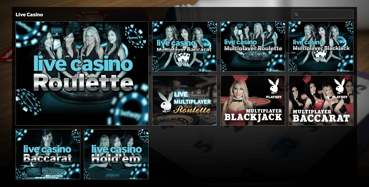 Live Casino Betway