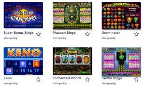 Eine Übersicht der live-Bingo-Varianten bei Bingocams