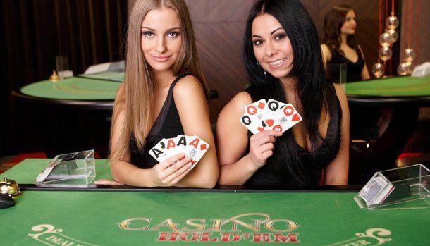 Live Casino Hold'em 2 echte Croupiers