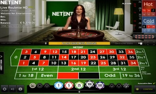 NetEnt Live Casino-Software