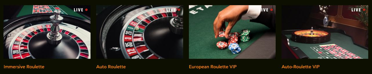 Codeta Live Roulette