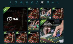 Live Casino spielen im Jungle bei ikkibu!