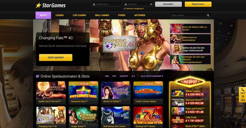 Stargames bietet eine Kombination aus einfachheit und klassischem Casino-gefühl