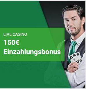 Unibet Casino Willkommensbonus