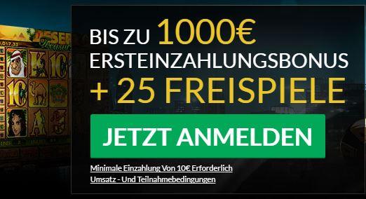 Eurogrand Casino Willkommensbonus