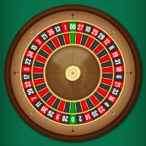 amerikanisch-Roulette-Rad