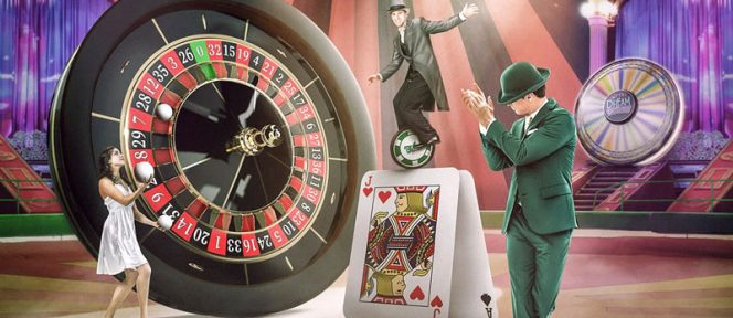 €5.000 CASH Zirkus im Mr Green Live Casino