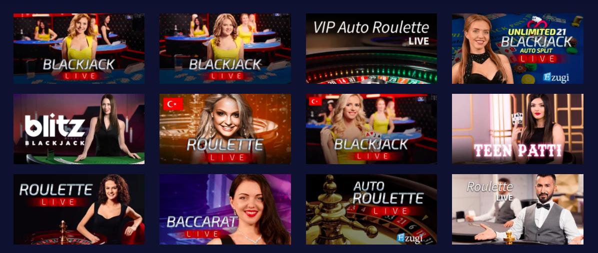 live casino betchain