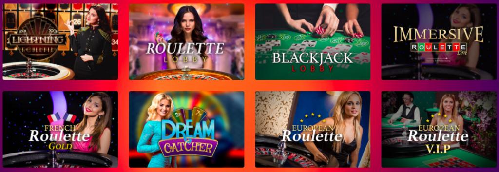 live casino gods