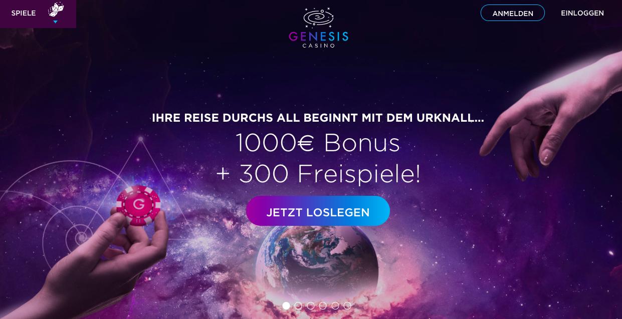 homepage genesis