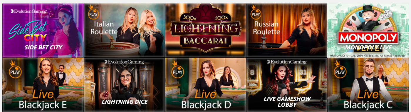slot v live casino