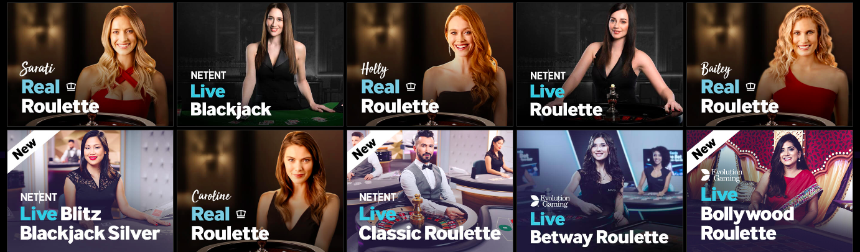live casino betway