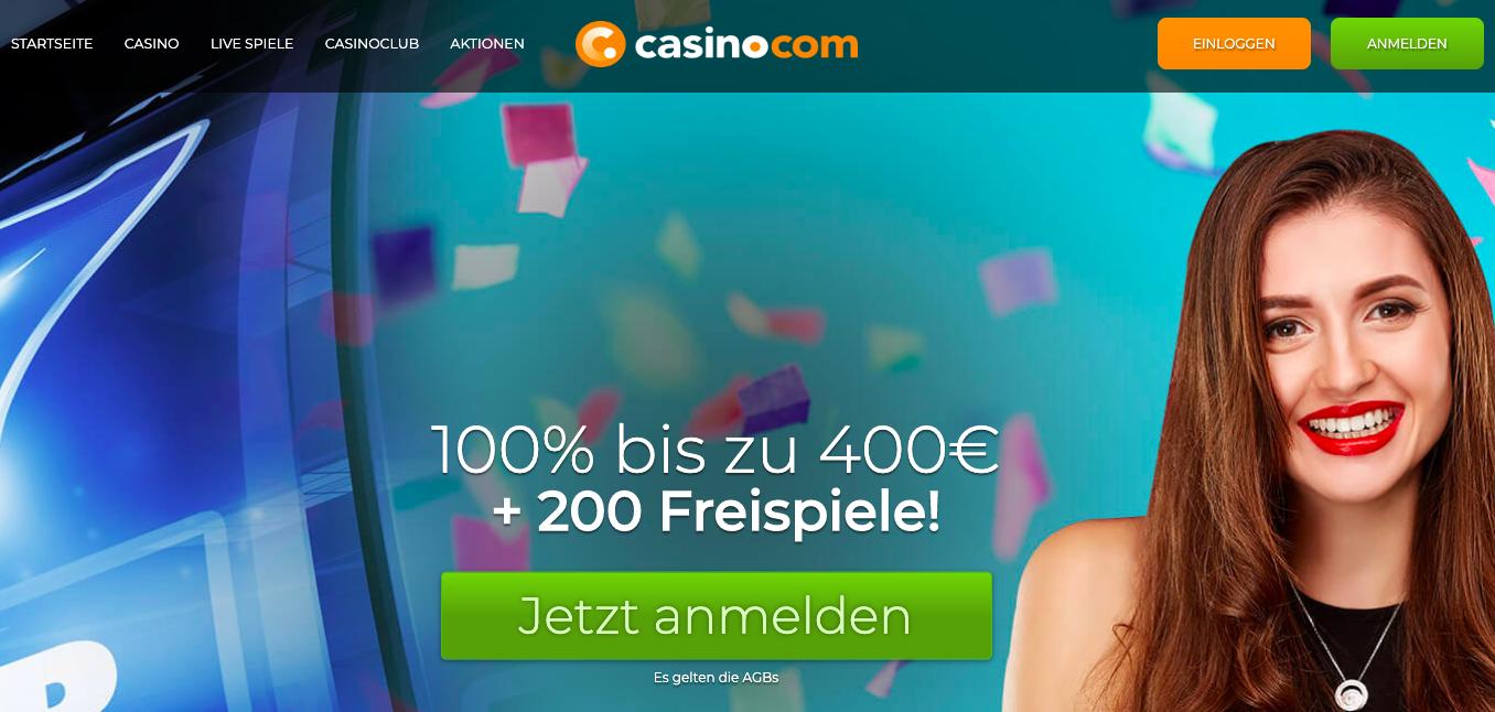 homepage casino.com