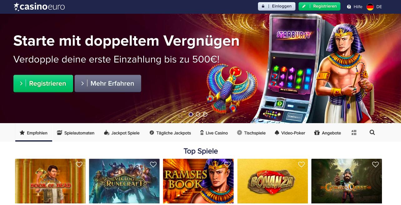 homepage casinoeuro
