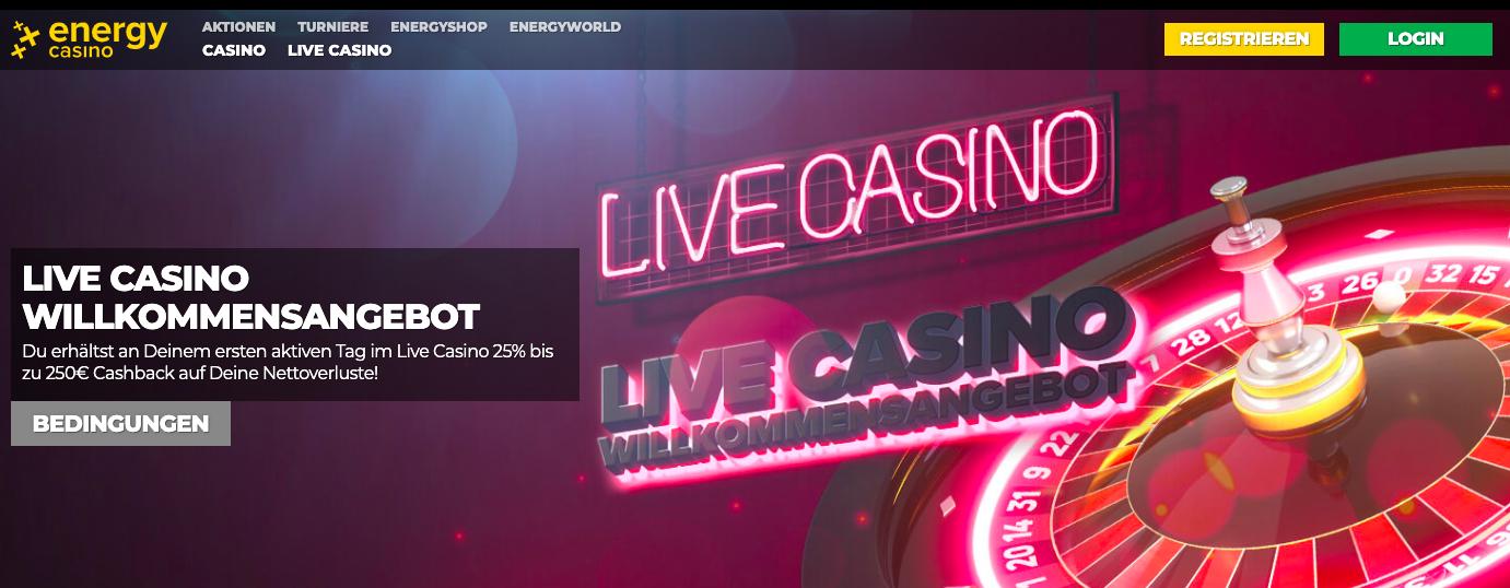 live casino energy